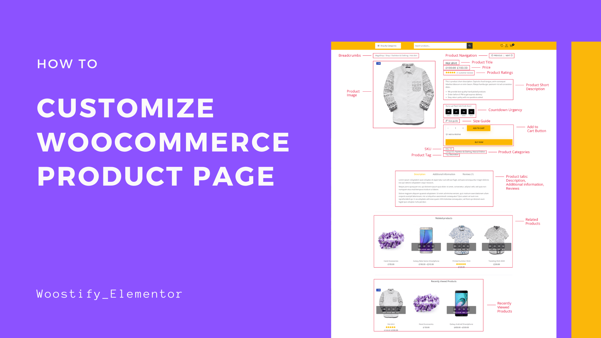 customize-woocommerce-product-page