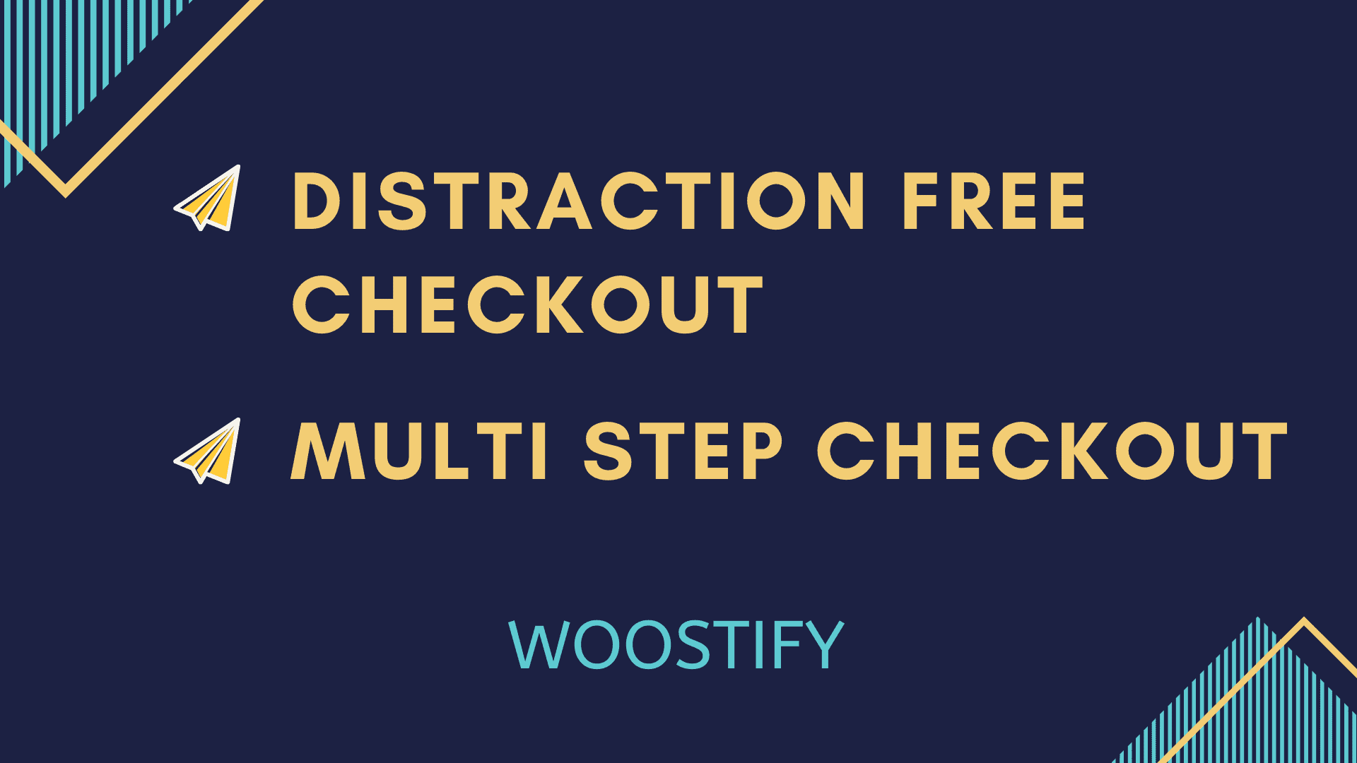 Distraction Free Checkout- Multi Step Checkout